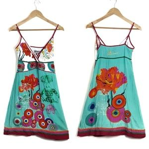 Desigual Women, Rhino, Floral Circle Print Dress
